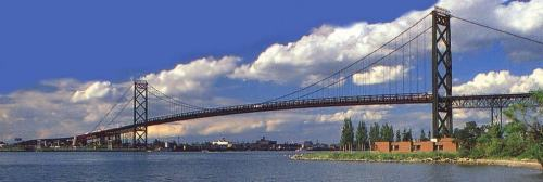 picture of ambassador bridge